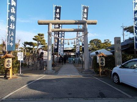 岡南神社20200106